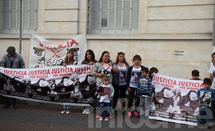 Familiares y amigos de Morena se manifestaron nuevamente para pedir justicia