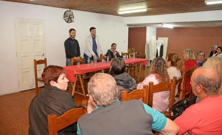Galli destacó avances para concretar la regularización del Barrio Evita