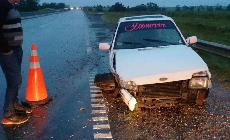 Ruta 226: dos vehículos protagonizaron un violento choque