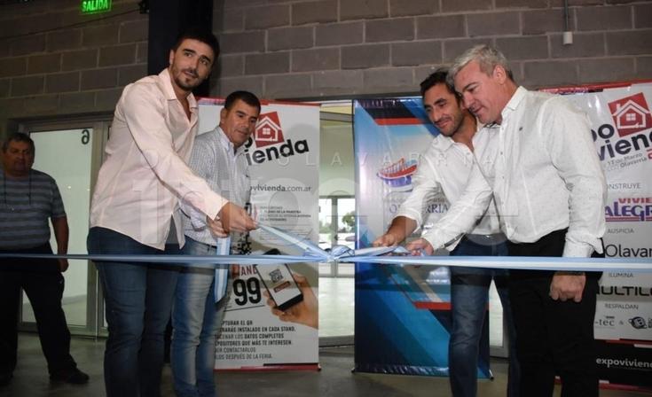 """Quedó inaugurada oficialmente la """"Expo Vivienda"""" 2019"""