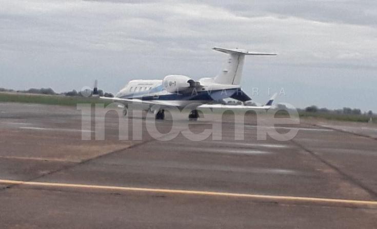 El Presidente Mauricio Macri llegó a Olavarría