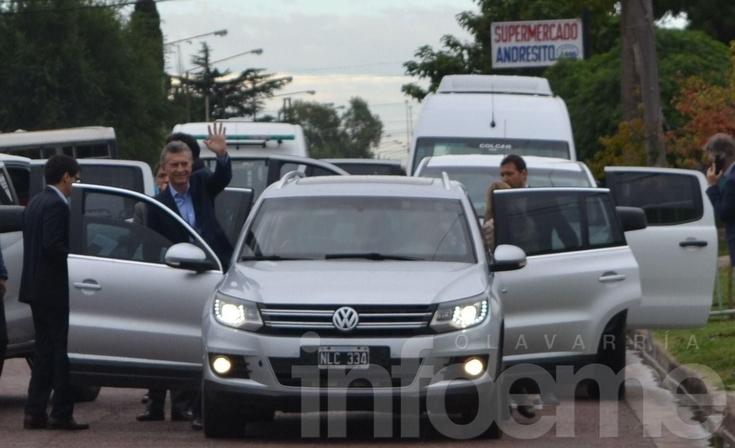 Mauricio Macri visitó el Jardín del Servicio Territorial Nº 2