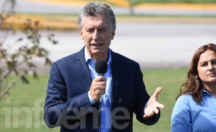 """Macri en Olavarría: """"Vamos en una lenta recuperación hacia lo que todos necesitamos"""""""