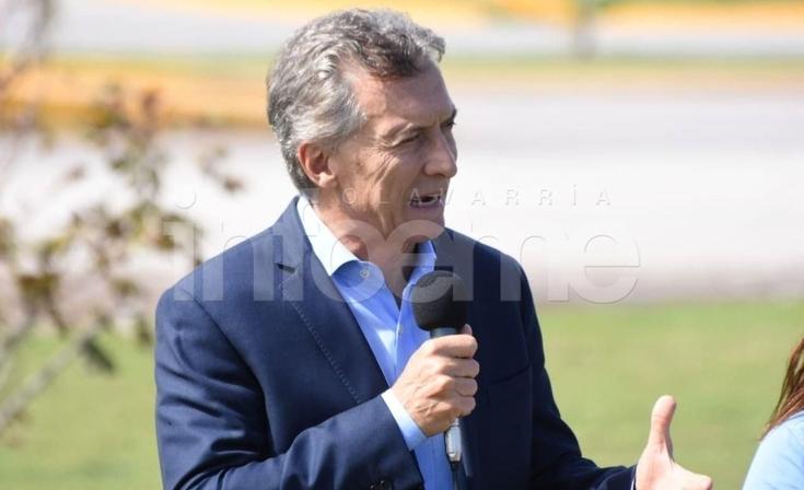 La visita de Macri en imágenes