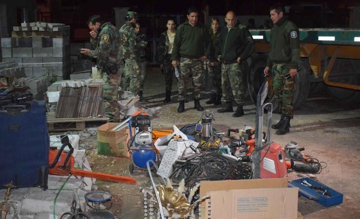 Investigan a olavarriense involucrada en varios delitos ocurridos en campos de la región