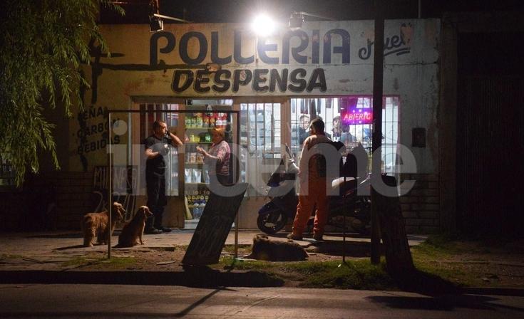 Delincuentes robaron una pollería en barrio Sarmiento Norte