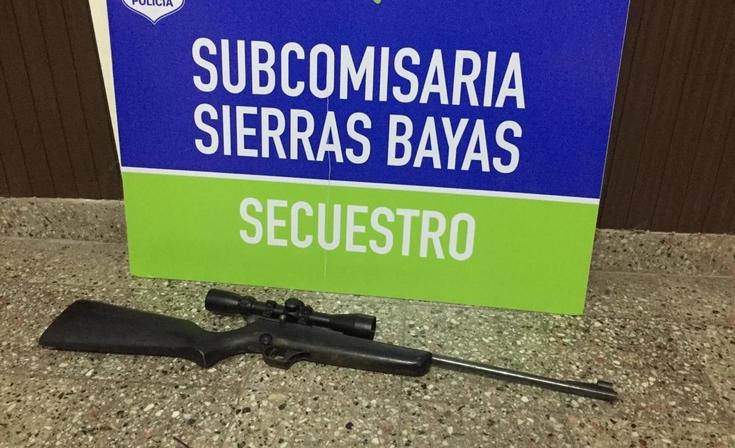 Violencia familiar: realizaron un allanamiento y secuestraron un arma