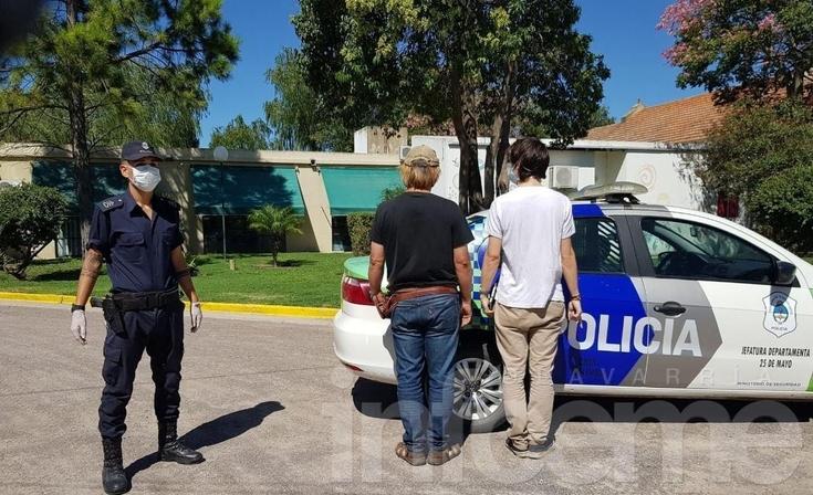 Aislamiento obligatorio: Dos olavarrienses y dos ciudadanas chinas fueron detenidos en Bolívar