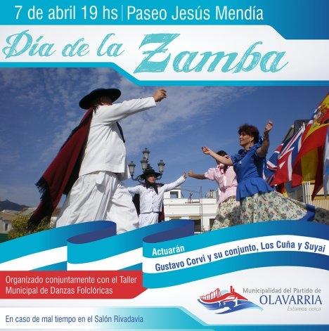 Se celebra el Día de la Zamba