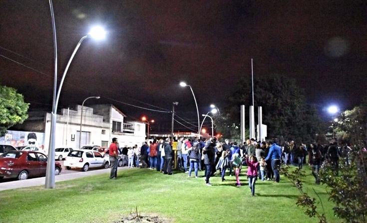 Parque Mitre: se inauguró la segunda etapa de la obra de iluminación