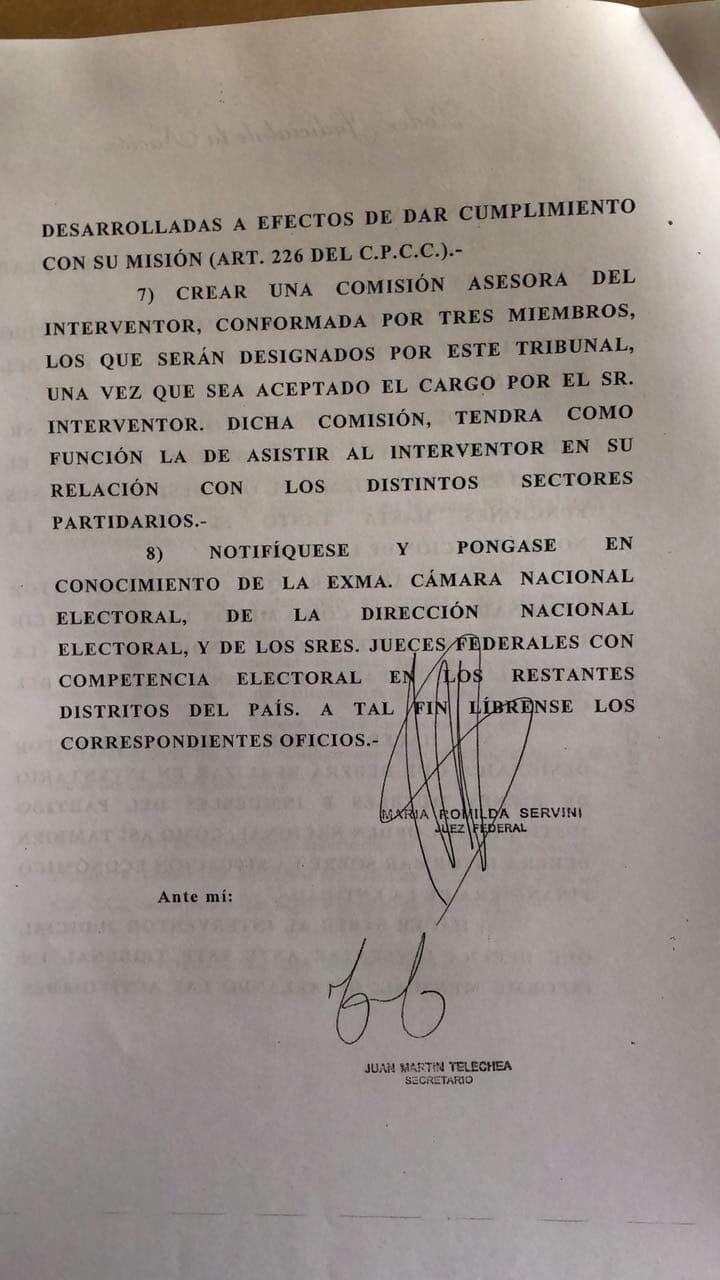 Luís Barrionuevo fue designado interventor judicial del PJ Nacional