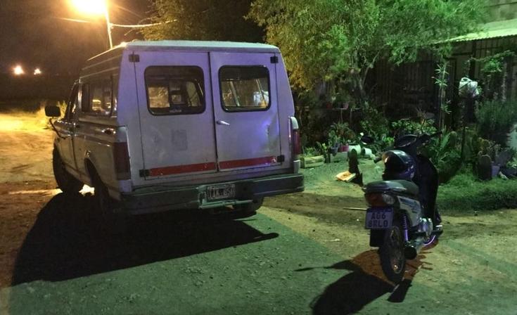 Abuelo de la nena embestida por una moto terminó preso tras incidentes