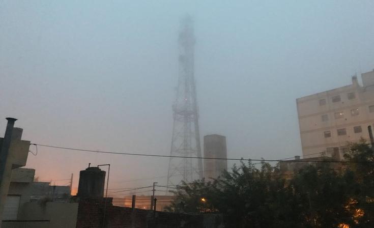 ¡Atención! Poca visibilidad por la neblina