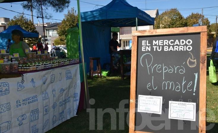 """""""El Mercado en tu Barrio"""" llegó a Olavarría con buenos precios y calidad"""