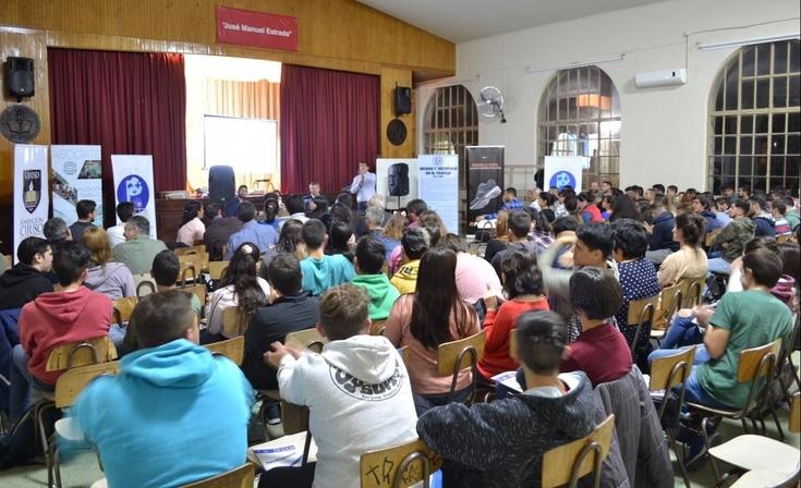 Conmemoración del mes de la seguridad en el trabajo en Olavarría