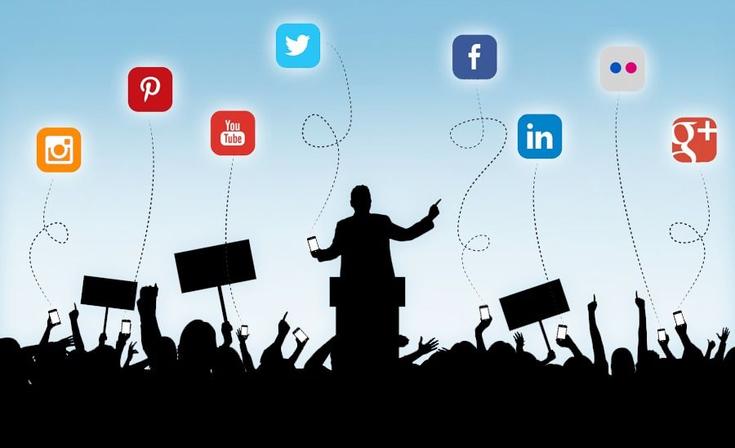 Registro de cuentas de redes sociales y sitios web  oficiales de candidatos y agrupaciones políticas