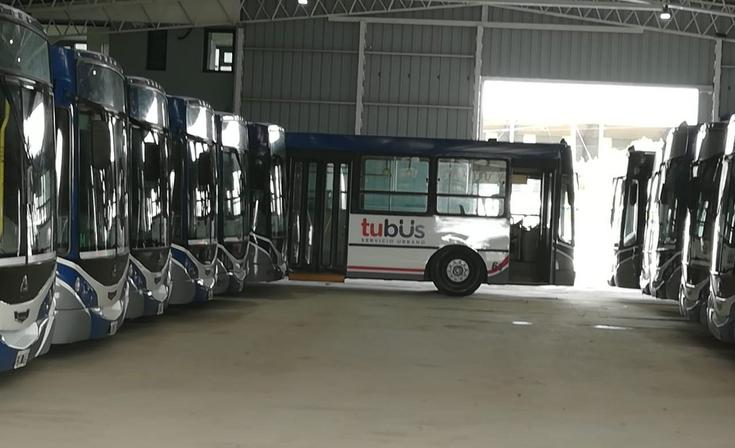 """Latorre visitó """"Tu Bus""""  y planteó preocupación por el recorrido nocturno"""
