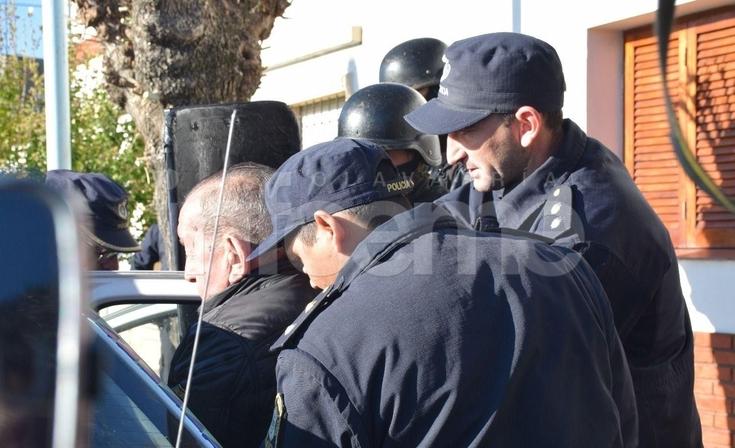 Trasladan a Roberto D'amico a una cárcel de Olmos