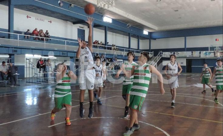 Los basquetbolistas de Inferiores jugaron una nueva fecha