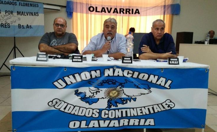 Plenario provincial de Soldados Continentales en Olavarría
