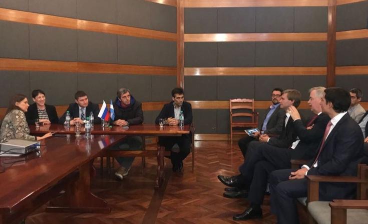 Funcionarios locales se reunieron con representantes rusos