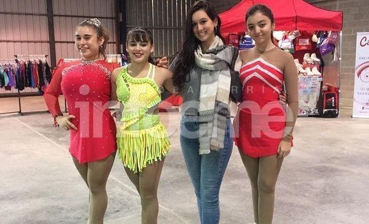 Tres patinadoras de Luz y Fuerza participarán del Nacional