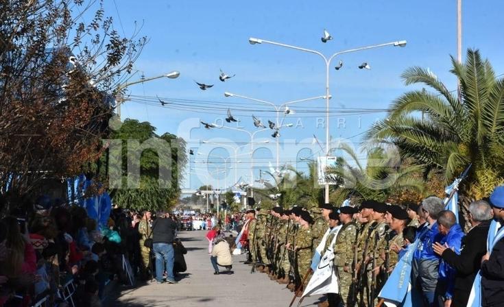 Colonia Hinojo recibió los festejos patrios por el 25 de mayo