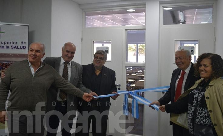 Inauguraron dos nuevas aulas en la Escuela de Ciencias de la Salud