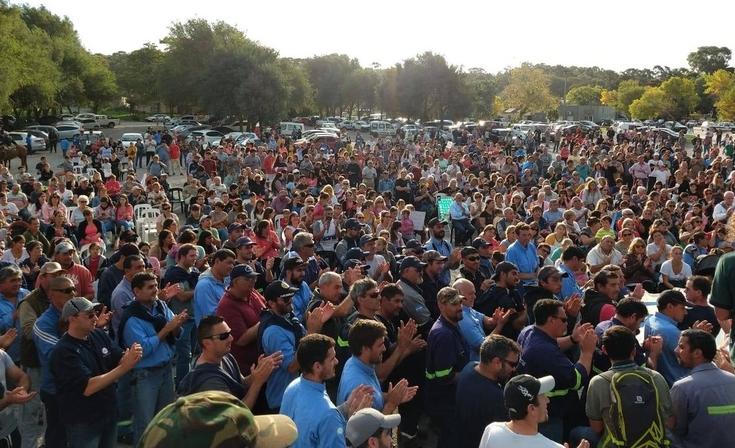 Barker: se suspendió la reunión de Loma Negra con referentes sociales