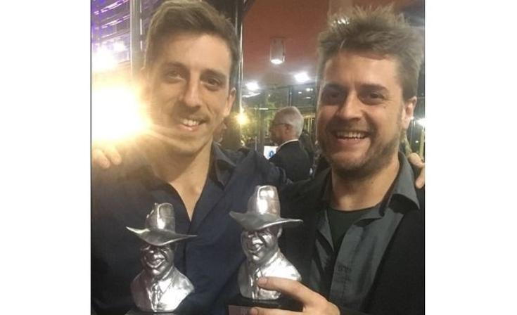 """Un olavarriense ganador en la gala de los """"Premios Gardel"""""""