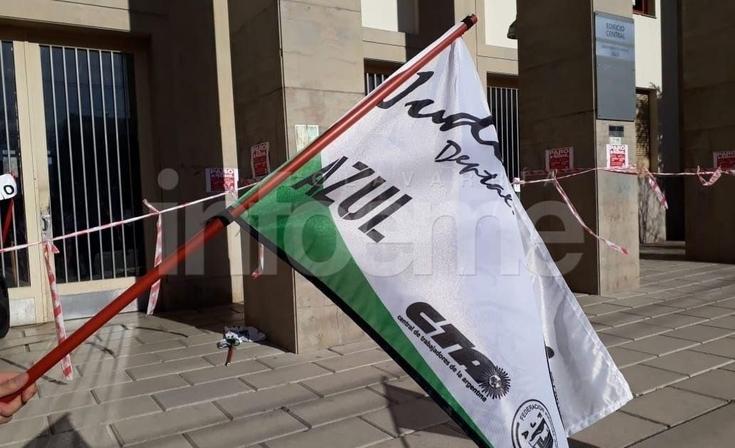 Judiciales de paro: protestas en Tribunales de Azul