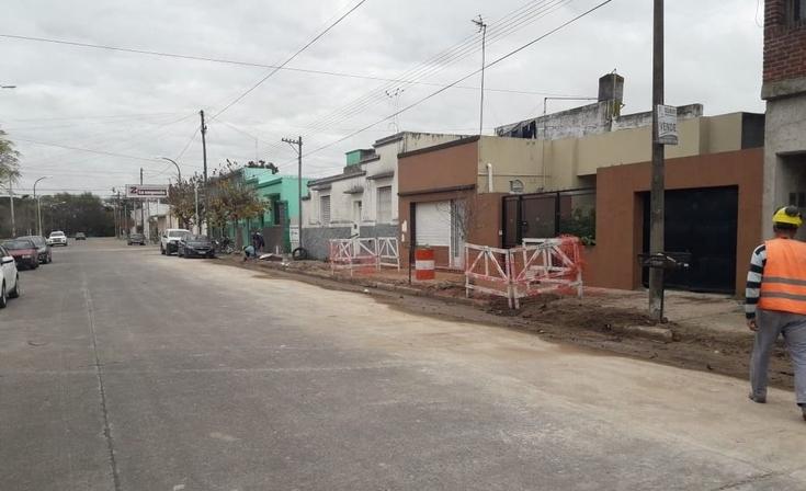 Realizan el recambio de cañerías de agua en Pueblo Nuevo