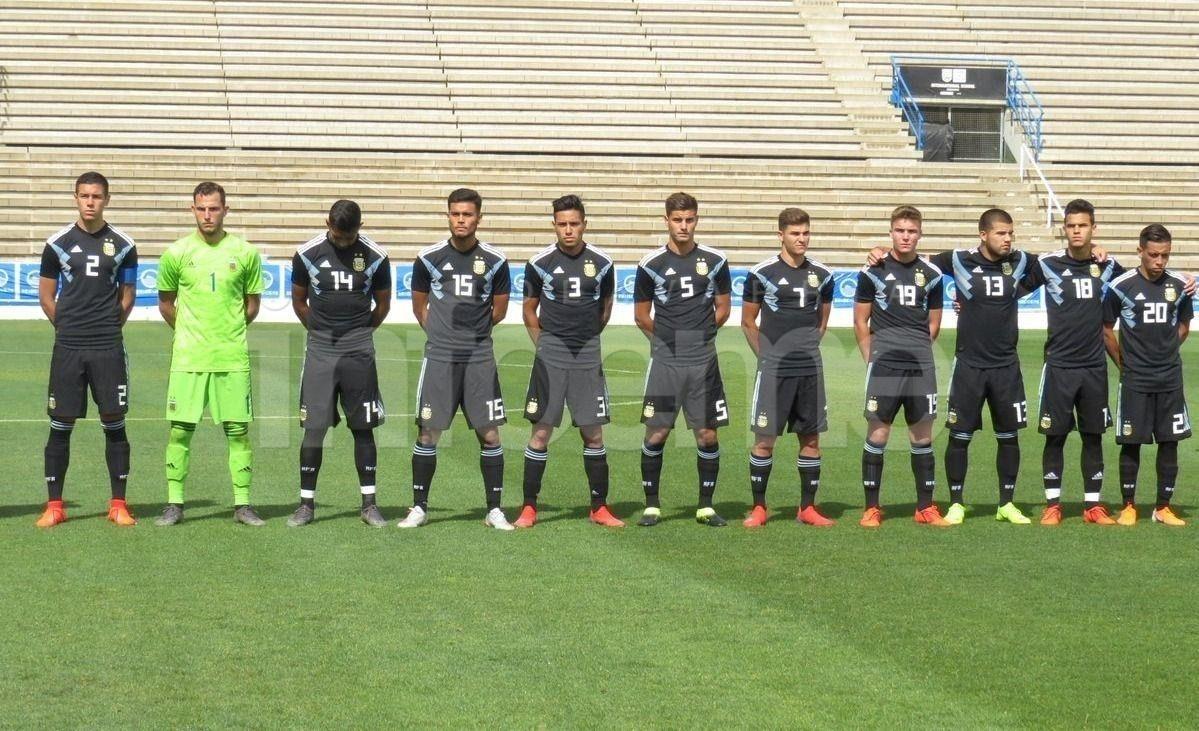 Con Chancalay como suplente, la Sub 20 le ganó a Honduras