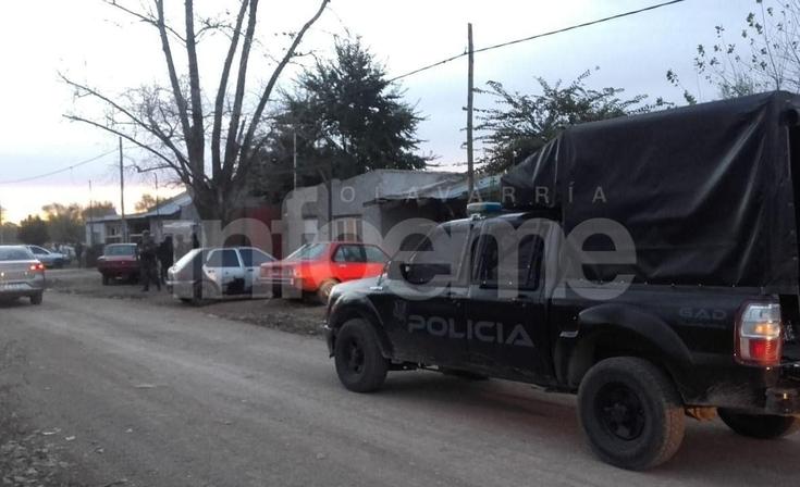 Secuestraron carne y proyectiles en un allanamiento por abigeato