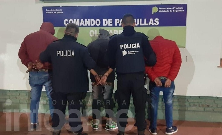 Tres hombres golpearon y amenazaron de muerte a otro: fueron aprehendidos