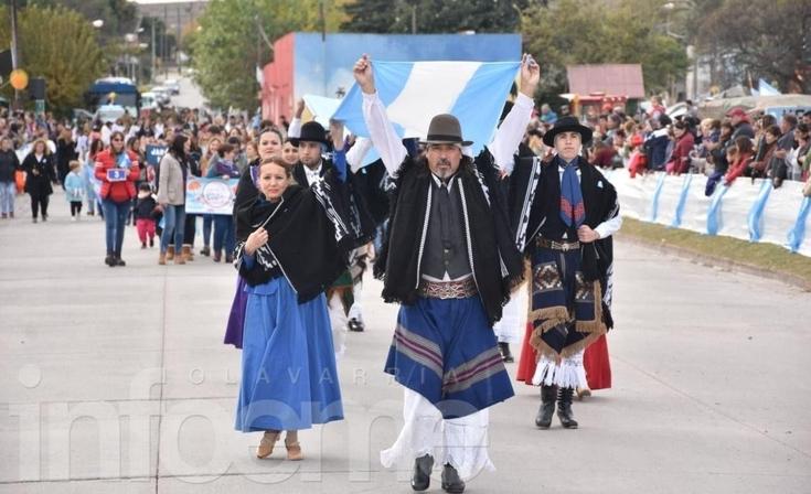 Sierras Bayas fue la localidad elegida para los festejos patrios