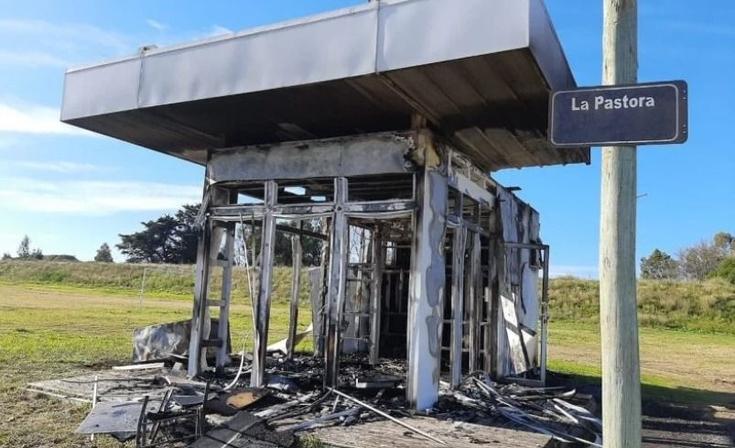 Tandil: Incendiaron intencionalmente un destacamento policial