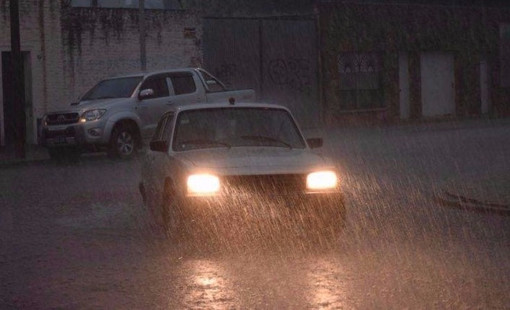 Anuncian lluvias y tormentas fuertes para la noche del martes