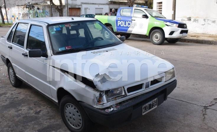 Jueves accidentado: chocaron dos autos y una mujer resultó lesionada