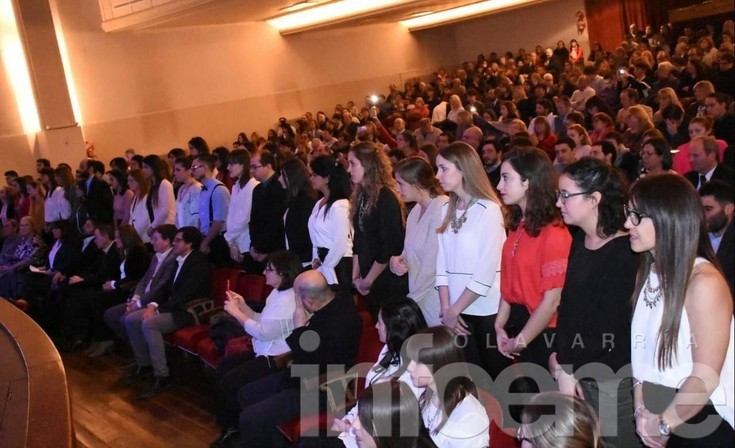 Se realizó el Acto de Colación de Grado de la UNICEN