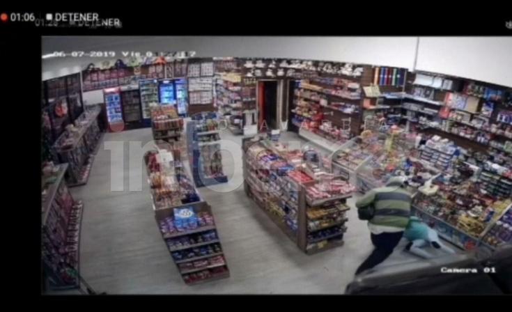 Robo al kiosco 24 horas: quedó detenido el presunto autor material