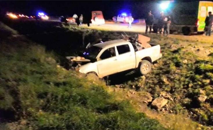 Ruta 76: cazadores furtivos huyeron de la policía, chocaron y uno murió
