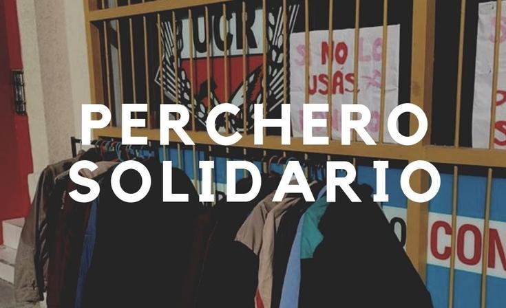 """La Juventud Radical lleva adelante un """"Perchero solidario"""""""