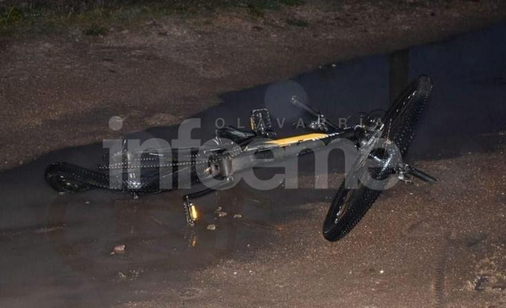 Un ciclista herido tras un accidente con una camioneta