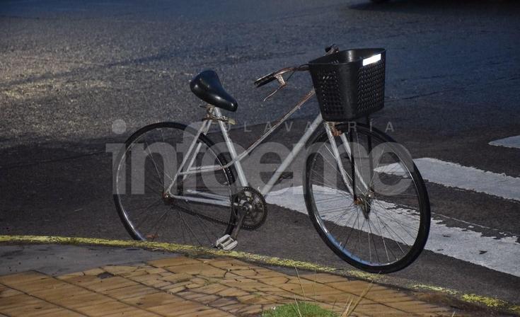 Una ciclista herida tras un accidente