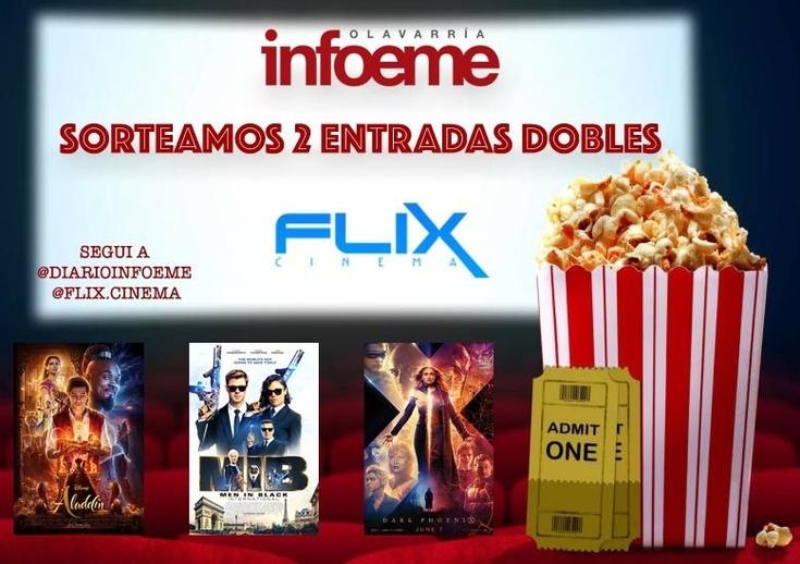 Ganadores de las entradas de Flix Cinema