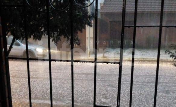 La caída de granizo en Olavarría, desde los lectores