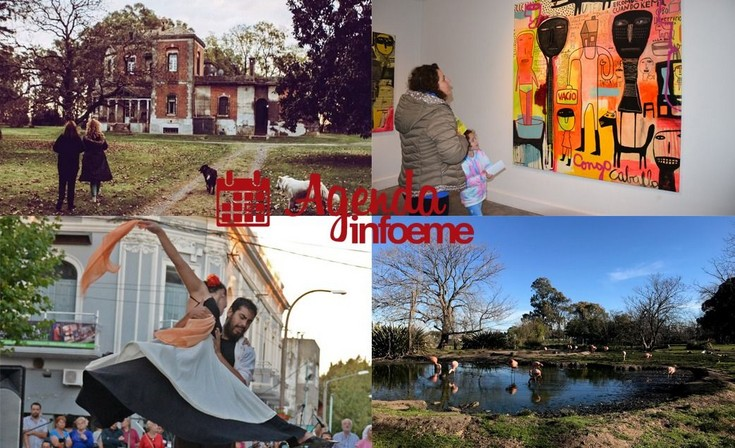 """Surtidas propuestas para el """"finde"""" en la agenda cultural"""