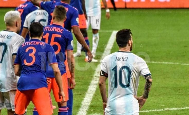 La derrota de Argentina en la Copa América en imágenes