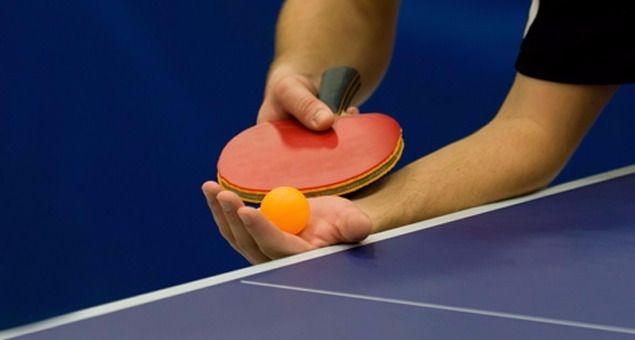 El viernes habrá tenis de mesa